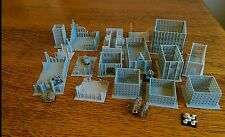 *SCENERY* 16 buildings. Ideal for Epic, Dystopian Wars, Adeptus Titanicus