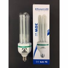 30W LED Energy Saving Corn Bulb 30W LED 6000K Daylight ES E27 Screw Fitting Bulb