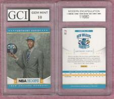 ANTHONY DAVIS Graded Gem Mint 10 Hoops 2012-13 Rookie Card New Orleans Pelicans!