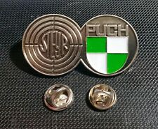 Steyr Puch Pin lackiert - Maße Logo 49x27mm Haflinger Pinzgauer