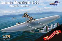 Dora Wings 72020 Savoia-Marchetti S.55 (torpedo bomber) plastic model kit 1/72