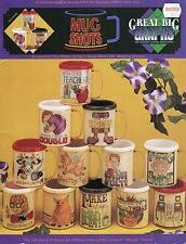 """GREAT BIG GRAPHS """"MUG SHOTS"""" Leaflet Contains 12 Designs for stitching"""