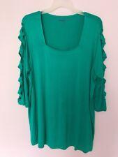 Denim 24/7 Women's Plus Size 1X 22/24  Pullover Shirt Stretch Top New