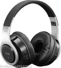 Original TDK Sliver/Black Bluetooth Wireless Over The Ear Headphones WR780