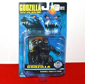 Trendmasters SUPERCHARGED Godzilla Wars 1995 Bendable Monster Action Figure