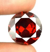 35.95 Ct Burma Red Spinel Round Cut Loose Gemstone 100% Natural Certified X9313
