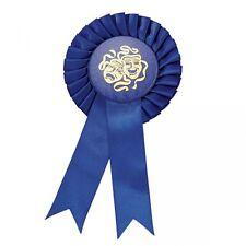 Blue Rosette Comedy Tragedy Masks - Drama Award