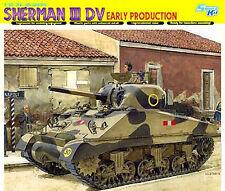 Dragon 1:35 6573: Réservoir Sherman II DV, production précédente