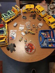 Playmobil Abschleppwagen ADAC Konvolut viele Figuren und Teile 4079 uvm