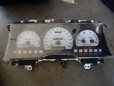 92 1992 FORD TAURUS SHO INSTRUMENT 140 MPH CLUSTER WHITE FACE 213K
