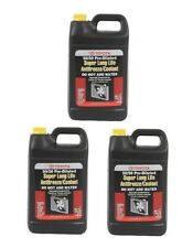 3 Gallon Pack GENUINE Coolant Antifreeze Fluid Pink 50/50 Premixed fits Toyota