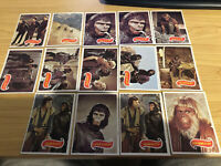 Planet of the Apes - BULK LOT 14 Trading Cards - 1976 Topps - NM