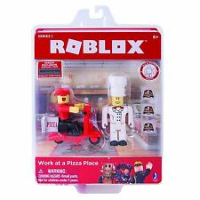 Roblox Work at a Pizza Place Playset Series 1 with Exclusive Virtual Item