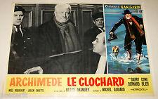 fotobusta originale ARCHIMEDE LE CLOCHARD Jean Gabin Gilles Grangier 1959 #2