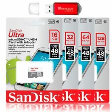 SanDisk Ultra 64GB 32GB 16GB MicroSD Class10 Memory Card Pro Reader GoPro Hero 6