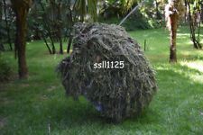 Jungle 80*90cm Burlap Camo Netting Military Hunting Ghillie Suit