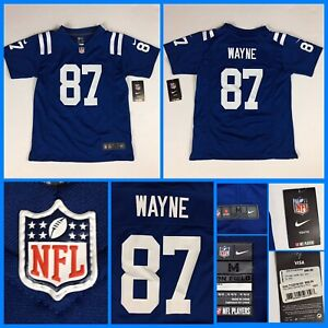 NWT Kids REGGIE WAYNE Indianapolis Colts Authentic Nike YOUTH Jersey - M 10/12
