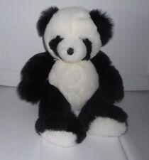 VINTAGE 1997 GANZ BLACK & WHITE BABY PANDORA PANDA BEAR STUFFED PLUSH ANIMAL TOY