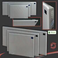 """""""NOVA LIVE R"""" Slimline SILVER Electric Panel Heaters (1000W, 1500W OR 2000W)"""