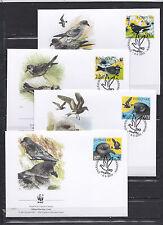 Faroe Islands 2005 - FDC - Vogels/Birds/Vögel  WWF/WNF