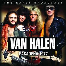 VAN HALEN New Sealed 2020 LIVE 1977 PASADENA CONCERT CD