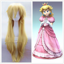 Super Mario Brothers Princess Mary Peach Princess Peach blonde cosplay Wig F.588