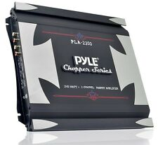 Pyle Chopper PLA2200 2 Channel 1400 Watt Bridgeable Mosfet Amplifier Car/Truck
