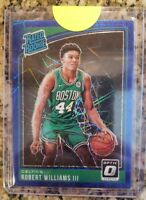 2018-2019 Donruss Optic Robert Williams RC Rated Rookie Blue Velocity Refractor