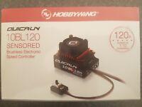 Hobbywing QuicRun 120 amp Sensored/Sensorless Genuine product sealed.