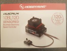 Hobbywing QuicRun 120 amp Sensored/Sensorless Genuine product sealed.