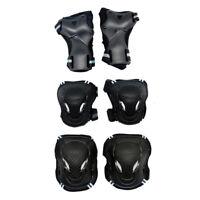 Kit de 6pcs Protection pour Moto Cyclisme Skate Rollers Avec 2pcs