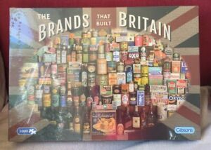 Gibsons The Brands that Built Britain Jigsaw Puzzle, 1000 piece