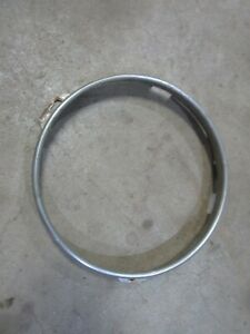 1948 1949 1950 Ford F1-F6 truck headlight bulb retainer trim molding ring