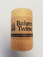 Bakers Twine 100% Cotton - 6 Ply - 240 Yard Roll