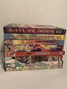 Sailor Moon DVD Collection ~ Super S Sailorstsrs Moon S Pegasus Set ++