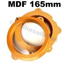 Lautsprecher Adapterringe MDF 165mm für Citroen C5 ab 2007 Heck