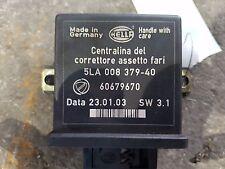 CENTRALINA CORRETTORE ASSETTO FARI 60679670 LANCIA THESIS (02-08) 2.4 JTD