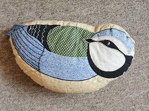Sass And Belle bluetit bird Cushion
