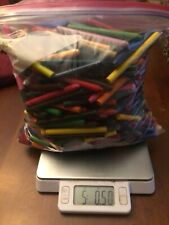 New listing Bulk Lot 5 Pounds of Crayons Whole and Broken No Labels for Melting Arts Crafts