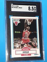 1990 Fleer #26 Michael Jordan SGC 8.5 NM/MINT