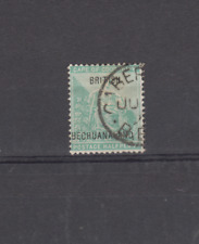 BECHUANALAND PROTECTORATE 1897 1/2D COGH OVERPRINT SG56 USED