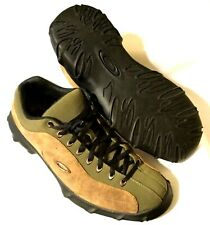 MEN'S OAKLEY CENTERFIRE SHOES -New Rare Tan Leather Lace Up Hiking Trail Size 11