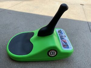 ZIPFY Freestyle Mini Luge One Person Sled Compact Performance Lime Green - Used