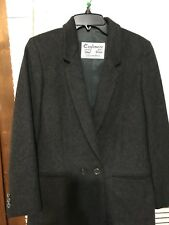 Cashmere And Wool Black Blazer Size Large