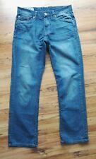 TOM TOMPSON DENIM Herren Jeans Bootcut hellblau used Worker