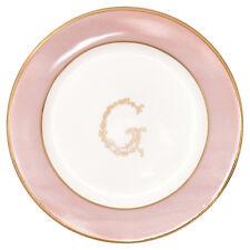 GreenGate DK Petite Plate in 'G' Pale Pink