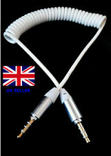 GOLD Stereo 3.5mm Male Jack Plug Cable Lead for Music form phone to car AUX iPad