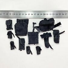 1/6 Hot Toys US NAVY SEAL Night Ops Jumper - Black Pouch Set