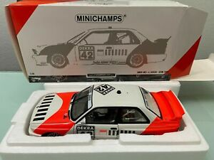 BMW M3 Euser DTM 1991 BARCODE limited 1000 Piecs  in 1:18