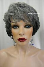 HEAT OK .. Elegant Paula Wig from Sepia .. Mix of Grays .. Gorgeous!!  *